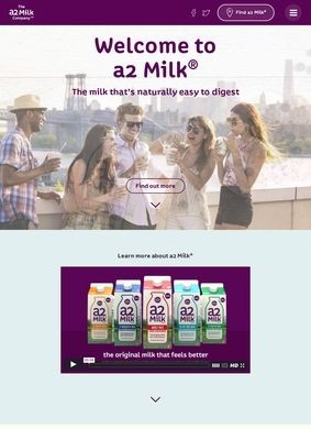a2 Pasteurized Milk