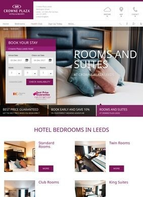 Luxury Hotel Accommodation In Leeds