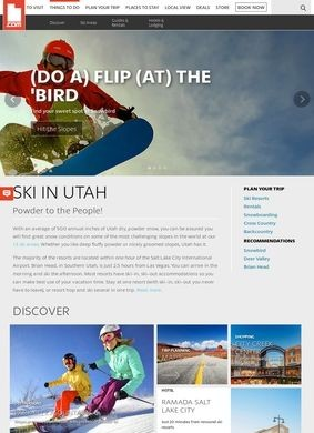 Utah.com: Utah Skiing and Snowboarding