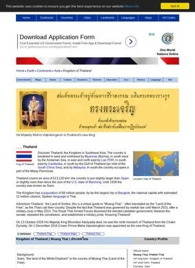 Nations Online: Thailand