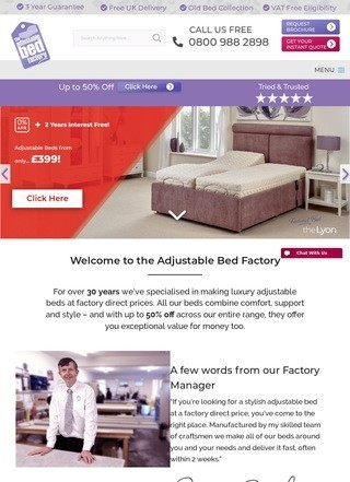 Adjustable Bed Factory
