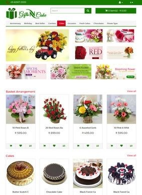 GiftsNcake.com: Online Flower and Cake Delivery in India
