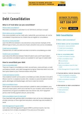 Money Meters: Debt Consolidation Guide