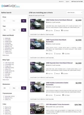 CarClick: Search Used Cars for Sale