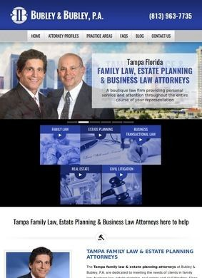 Tampa Family Law, Divorce & Estate Planning Attorneys