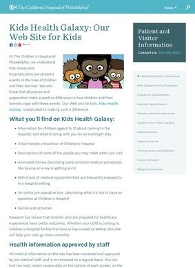 Kids Health Galaxy
