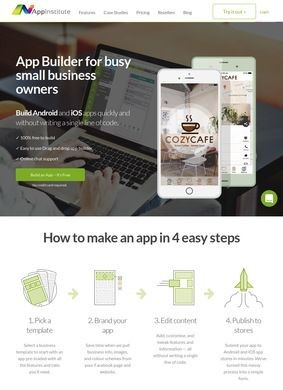 AppInstitute - DIY App Builder for Small Businesses