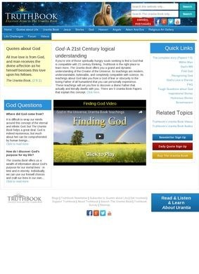 Finding God at Truthbook.com