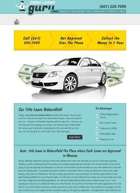 Cash Car Title Loans Guru Bakersfield