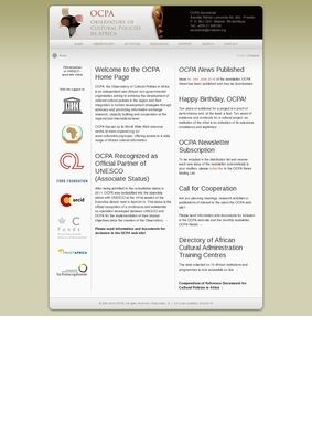 OCPA Observatory of Cultural Policies in Africa