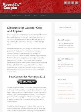 MooseJaw coupon: Discounts for Outdoor Gear 2016
