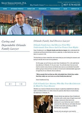 Orlando Florida Divorce and Family Law Attorney