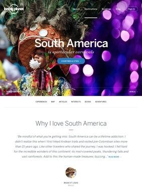 Lonely Planet: South America