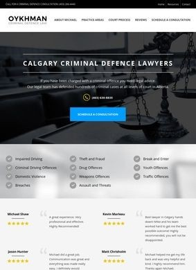Michael Oykhman: Criminal Defence Lawyer in Calgary