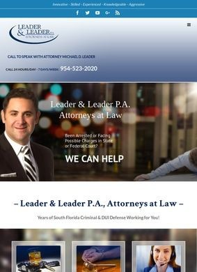 DUI Lawyer: Michael Leader