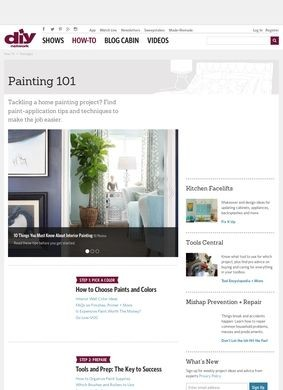 Diy Network: Painting 101