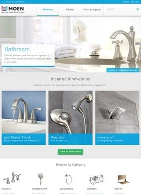 Moen: Bathroom Fixtures