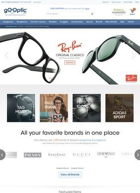 Go-Optic.com: Discount Designer Eyeglasses & Sunglasses
