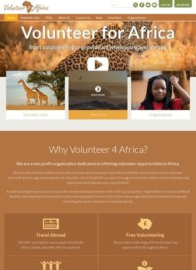 Volunteer Work Africa