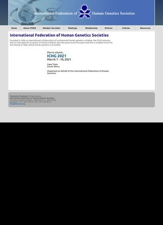 International Federation of Human Genetics Societies