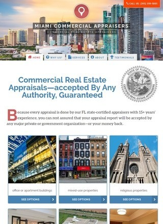 Commercial Real Estate Appraisers in Miami FL