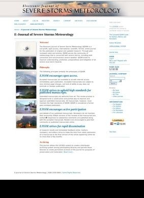 E-Journal of Severe Storms Meteorology