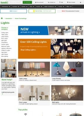 Dunelm Mill Lighting