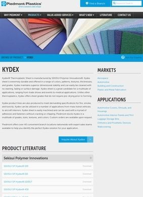 Kydex Sheet Suppliers