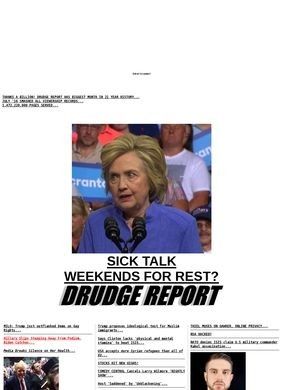 Drudge Report, The