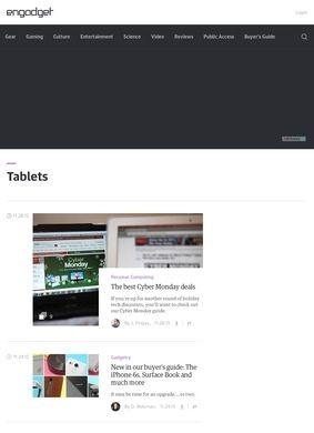 Engadget: Tablets