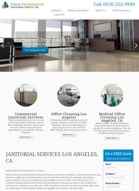 Clean Environment Janitorial Service