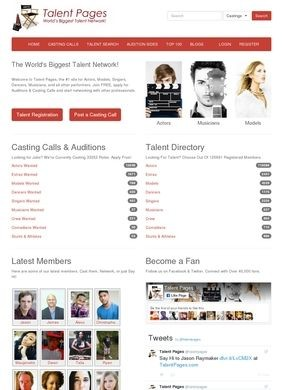 Talent Pages