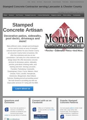Stamped Concrete Info