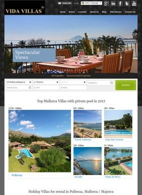 Vida Villas: holiday villas for rental in Mallorca