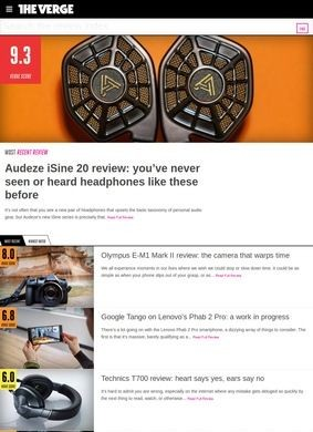 The Verge: Reviews