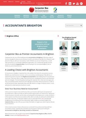 Carpenter Box: Accountants