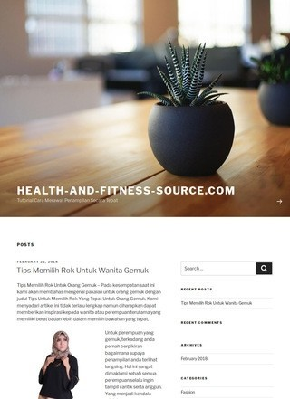 Health and Fitness Source