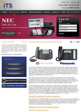 ITS: Hosted Telephone Systems