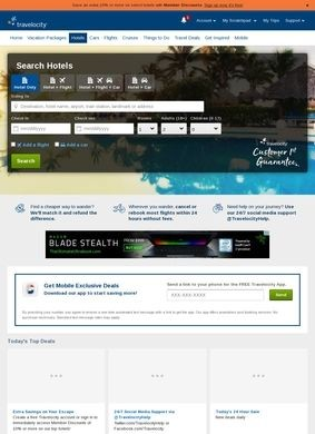 Travelocity: hotels