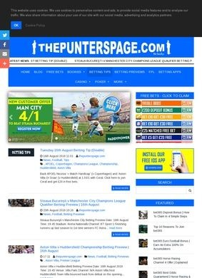 ThePuntersPage.com: Football Previews and Twitter Action