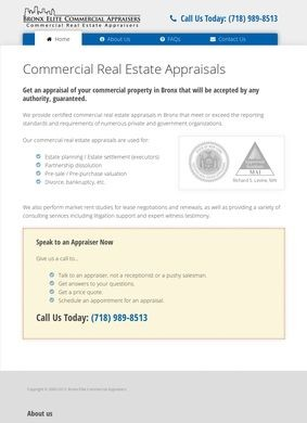 Bronx Commercial Appraisers