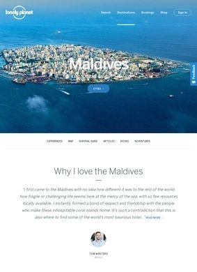 Maldives Travel Information and Travel Guide - Lonely Planet
