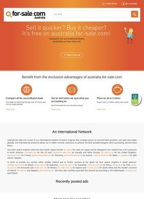 For-Sale Australia: Classified Ads