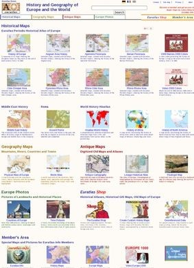 History and Geography of Europe and the World