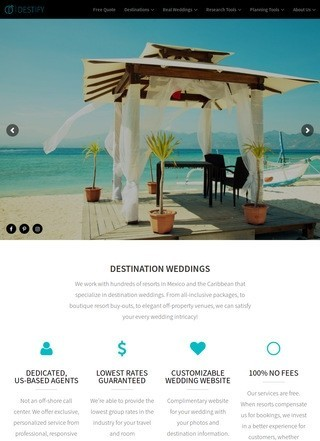 Destify Destination Weddings