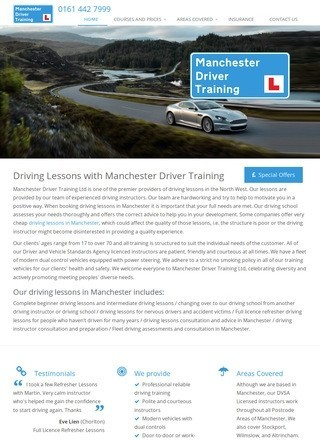 Manchester Driver Training