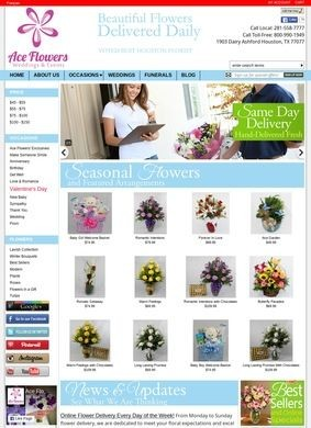 Houston Florist, Ace Flowers