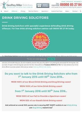 Drink Driving Solicitors