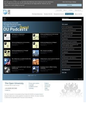 Open University Podcasts