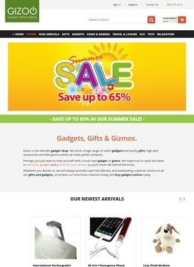 Gizoo: gadgets gifts and gizmos